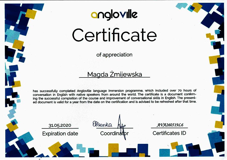 certyfikat-Angloville