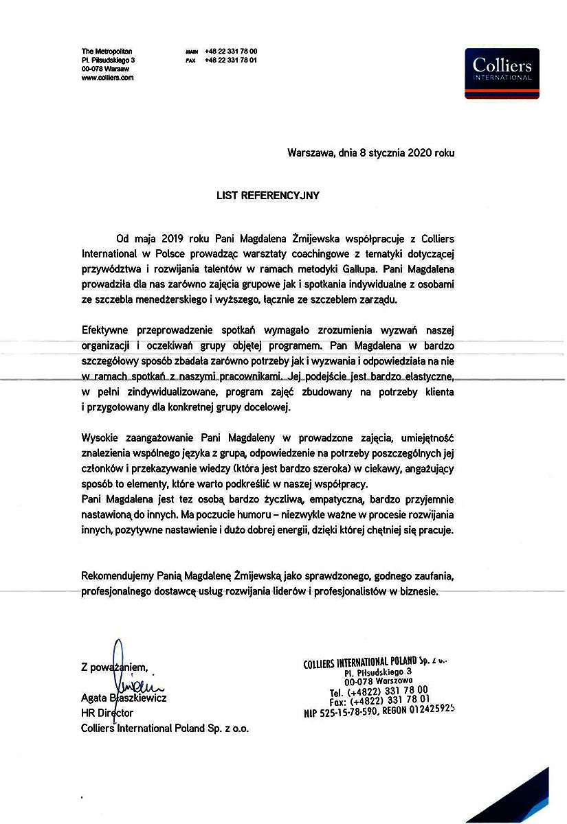 Referencje-Magdalena-Żmijewska