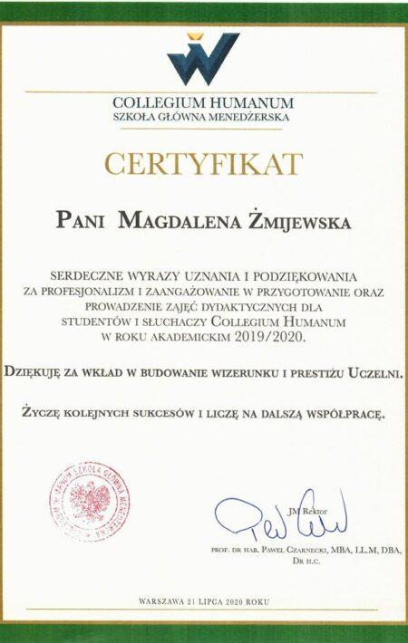 Humanum_certyfikat-uznania_lipiec2020